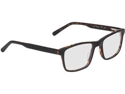 Brille Blackwood-schwarz/braun-meliert