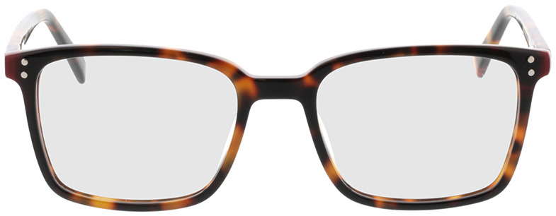 Picture of glasses model Valona-braun-meliert in angle 0