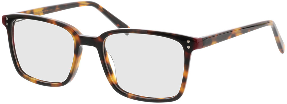 Picture of glasses model Valona-braun-meliert in angle 330