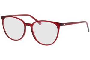Slim Optical Giselle red 53-17