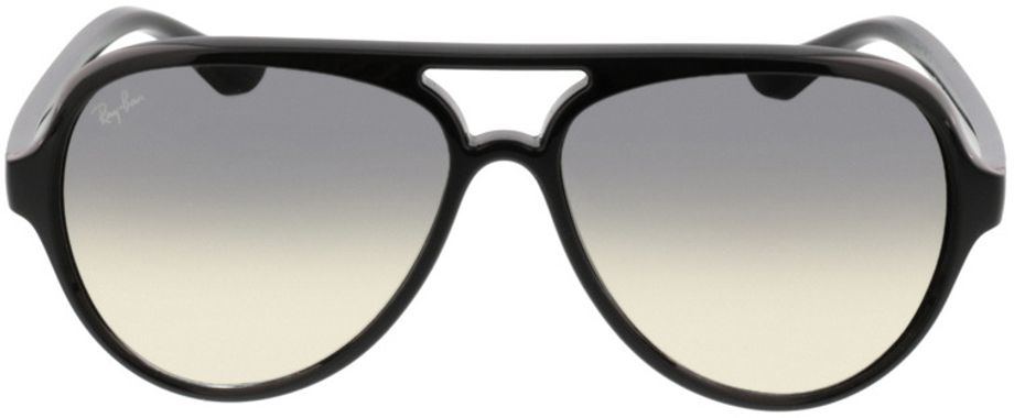 Picture of glasses model Ray-Ban Cats 5000 RB 4125 601/32 59-13 in angle 0