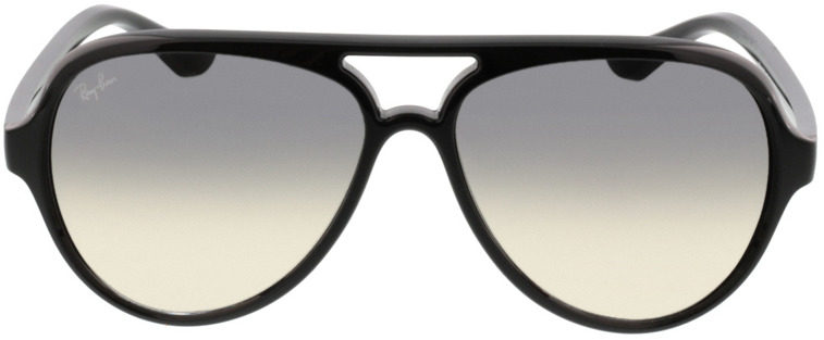 Picture of glasses model Ray-Ban Cats 5000 RB4125 601/32 59-13 in angle 0