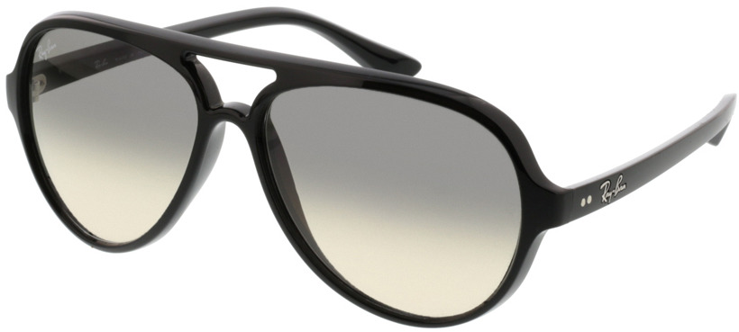 Picture of glasses model Ray-Ban Cats 5000 RB4125 601/32 59-13 in angle 330