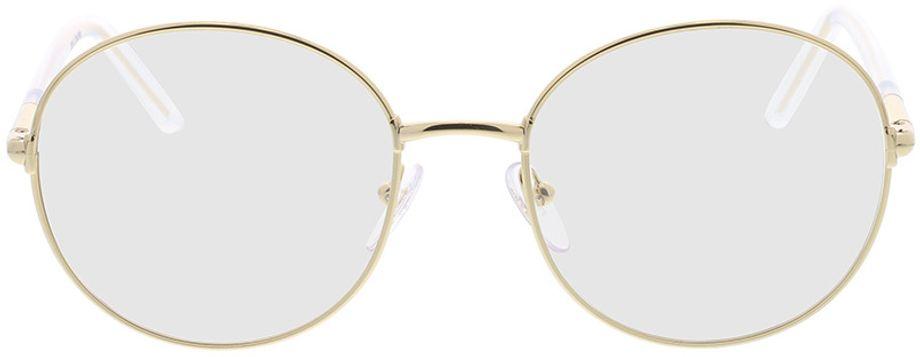 Picture of glasses model Prada PR 55WV 5AK1O1 53-19 in angle 0