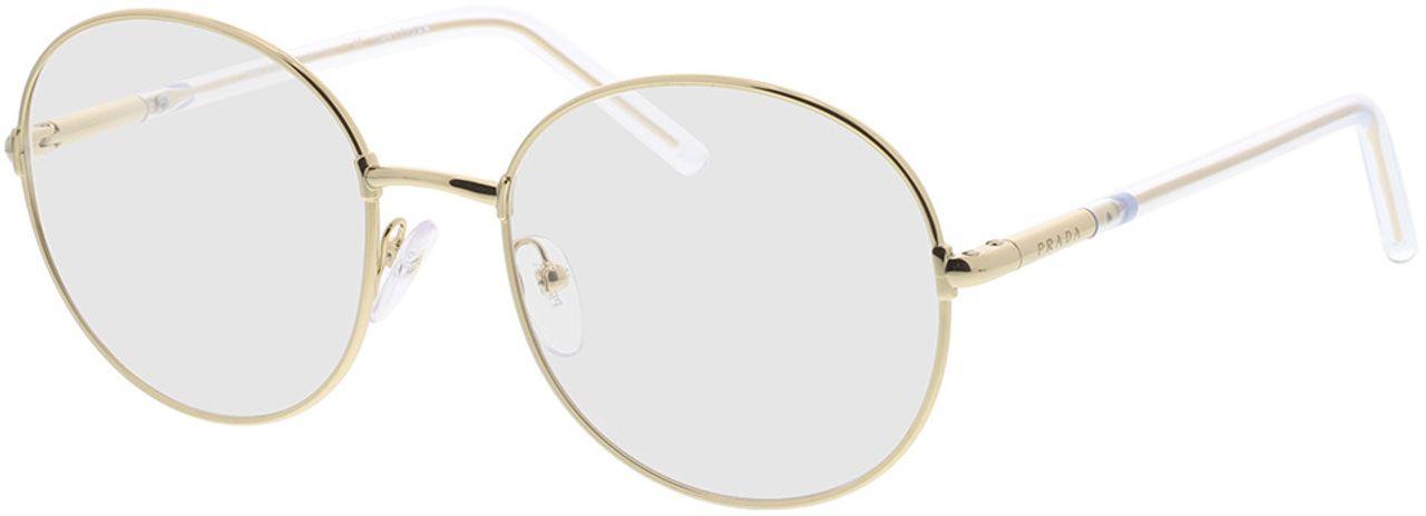 Picture of glasses model Prada PR 55WV 5AK1O1 53-19 in angle 330