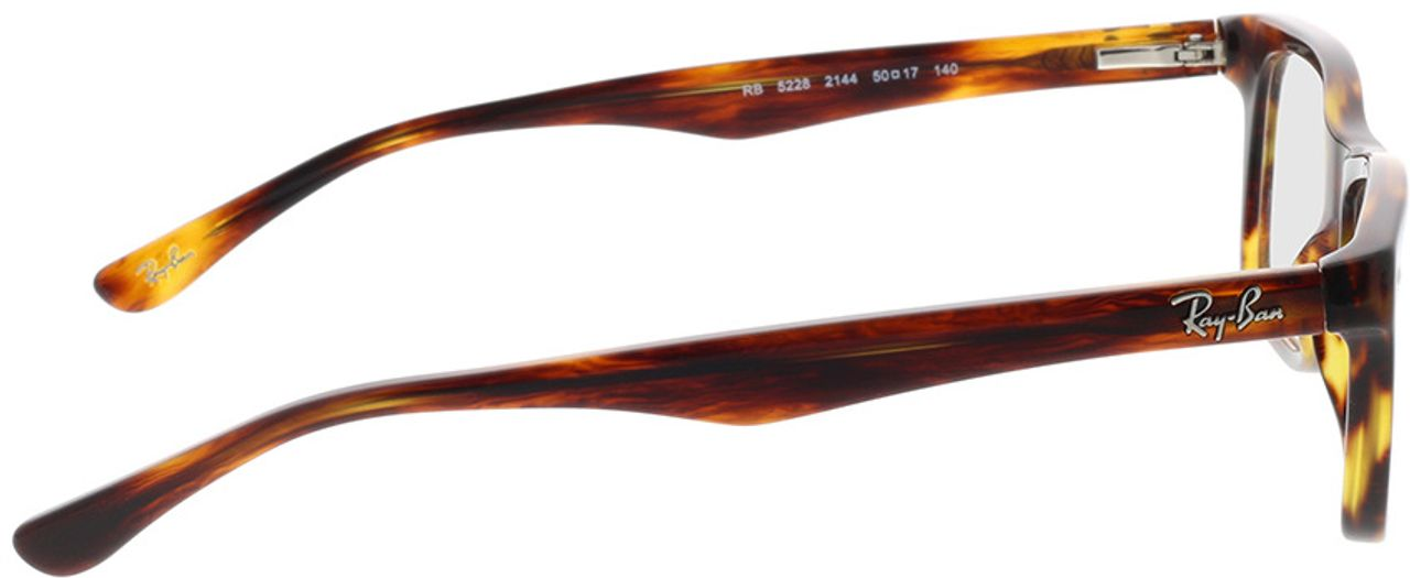 Picture of glasses model Ray-Ban RX5228 2144 50-17 in angle 90