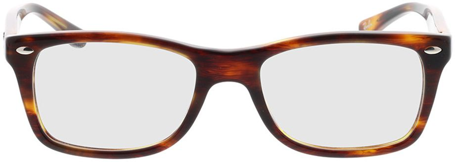 Picture of glasses model Ray-Ban RX5228 2144 50-17 in angle 0