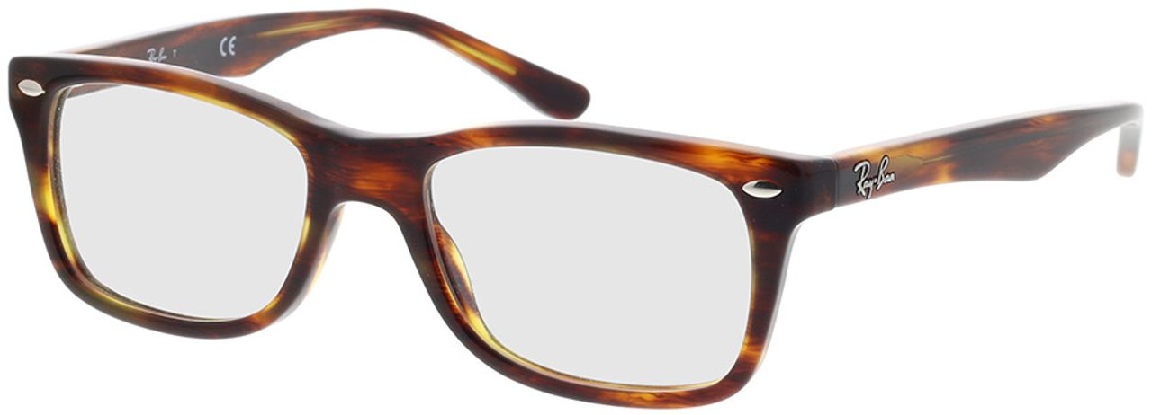 Picture of glasses model Ray-Ban RX5228 2144 50-17 in angle 330