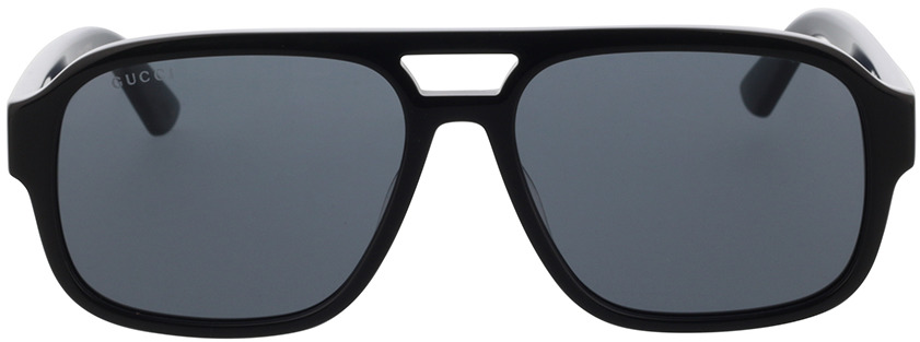 Picture of glasses model Gucci GG0925S-001 58-16 in angle 0