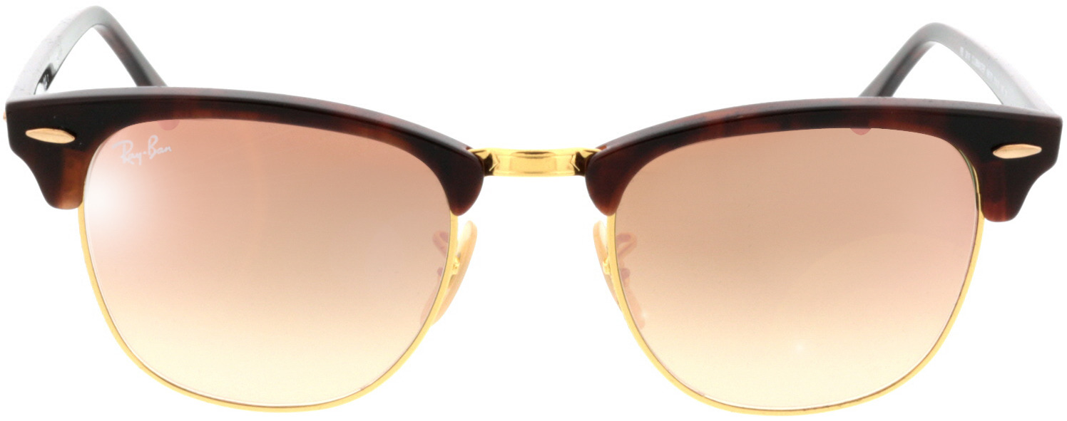 Picture of glasses model Ray-Ban RB3016 990/7O 51 21 in angle 0