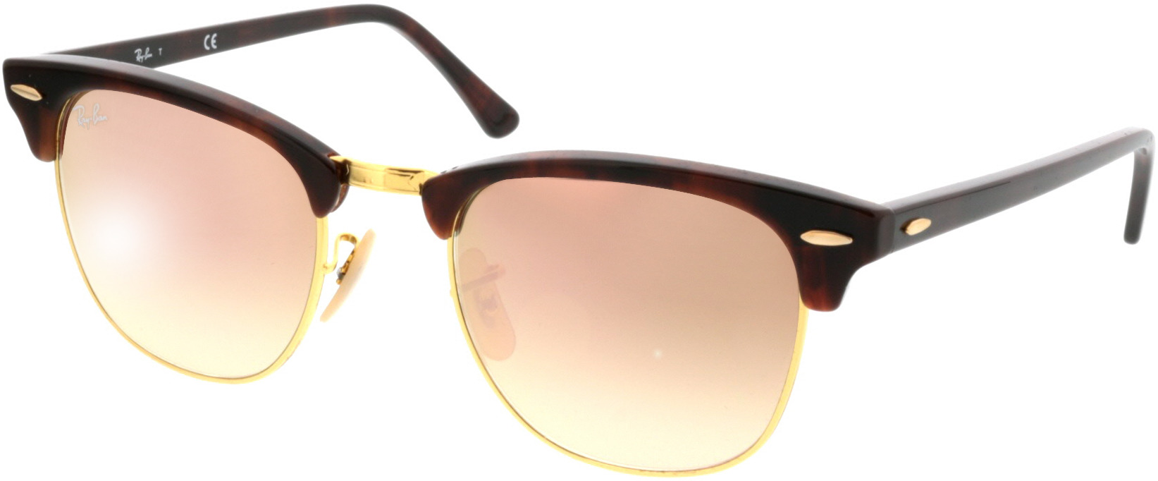 Picture of glasses model Ray-Ban RB3016 990/7O 51 21 in angle 330