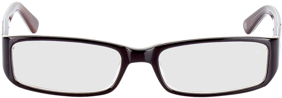 Picture of glasses model Cuneo-brown in angle 0