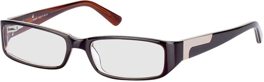 Picture of glasses model Cuneo-brown in angle 330