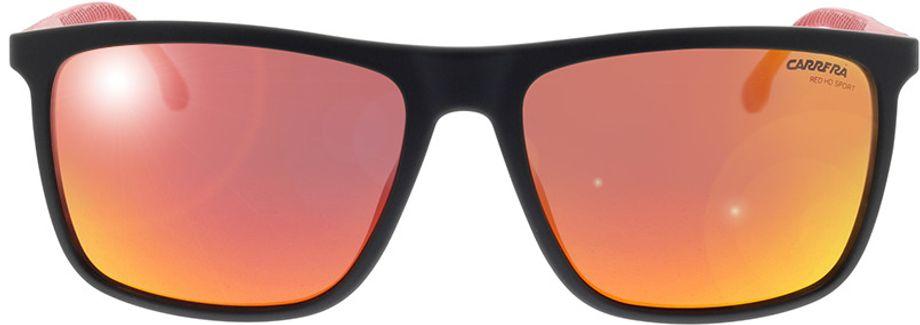 Picture of glasses model Carrera CARRERA 8032/S 003 57-17 in angle 0