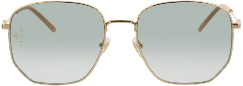 Picture of glasses model Gucci GG0396S-002 56-18 in angle 0