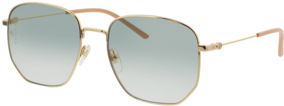 Picture of glasses model Gucci GG0396S-002 56-18 in angle 330