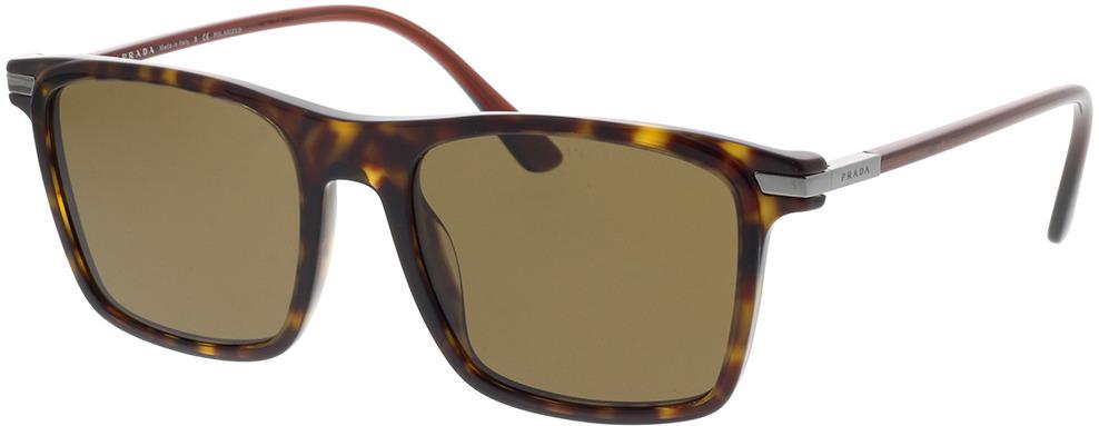 Picture of glasses model Prada PR 19XS 01A01D 54-19 in angle 330