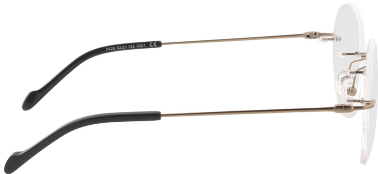 Picture of glasses model Molina-gold in angle 90