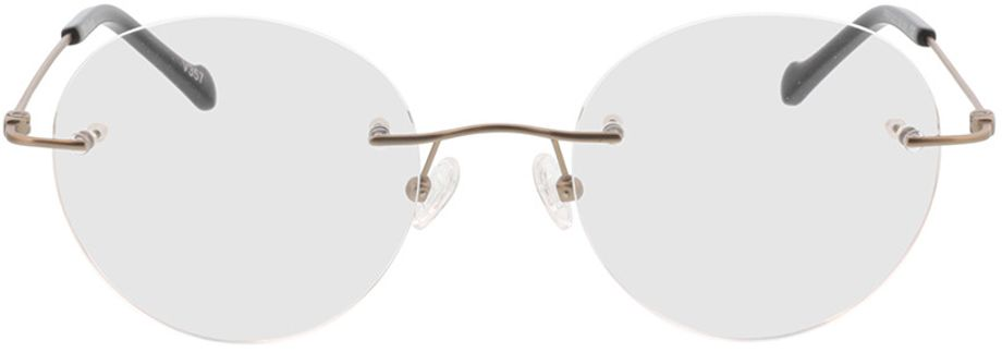 Picture of glasses model Molina-gold in angle 0