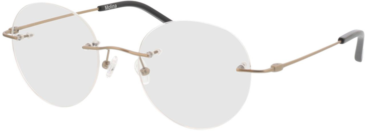 Picture of glasses model Molina-gold in angle 330