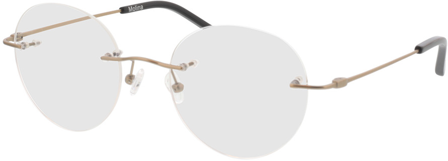 Picture of glasses model Molina-or in angle 330