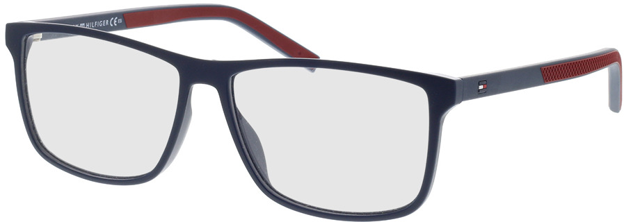 Picture of glasses model Tommy Hilfiger TH 1696 WIR 55-14 in angle 330