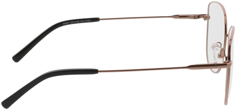 Picture of glasses model Winona-roségold in angle 90