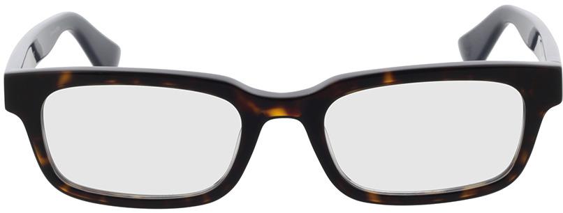 Picture of glasses model Gucci GG0928O-006 52-19 in angle 0