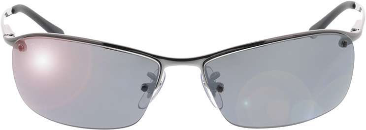 Picture of glasses model Ray-Ban Top Bar RB3183 004/82 63-15 in angle 0