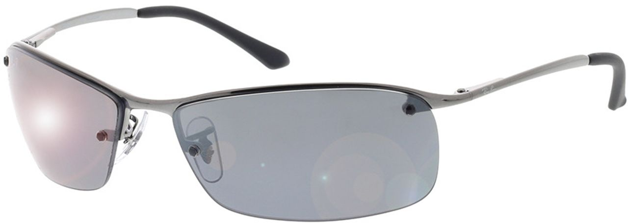 Picture of glasses model Ray-Ban Top Bar RB3183 004/82 63-15 in angle 330