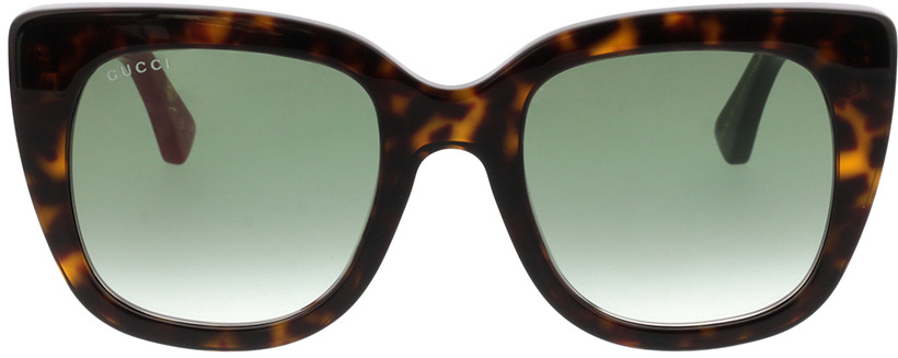 Picture of glasses model Gucci GG0163S-004 51-22 in angle 0