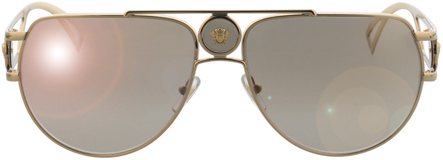 Picture of glasses model Versace VE2225 10027I 60-15 in angle 0