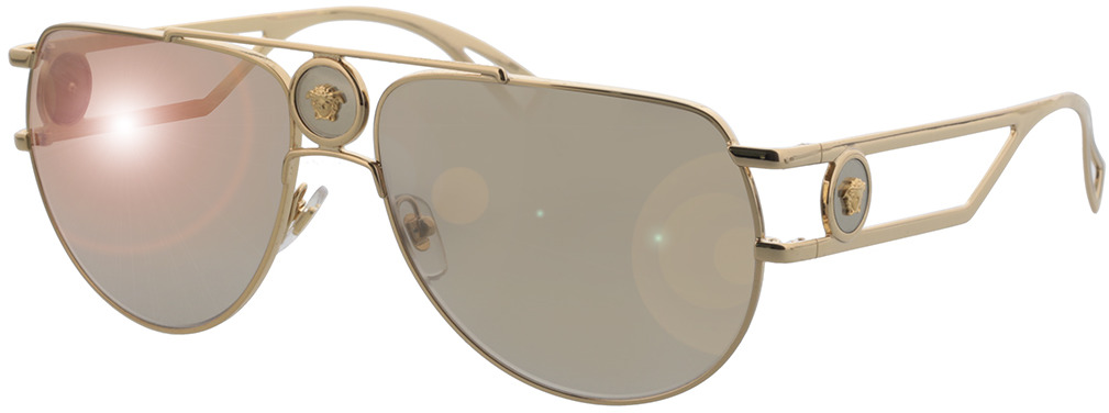 Picture of glasses model Versace VE2225 10027I 60-15 in angle 330