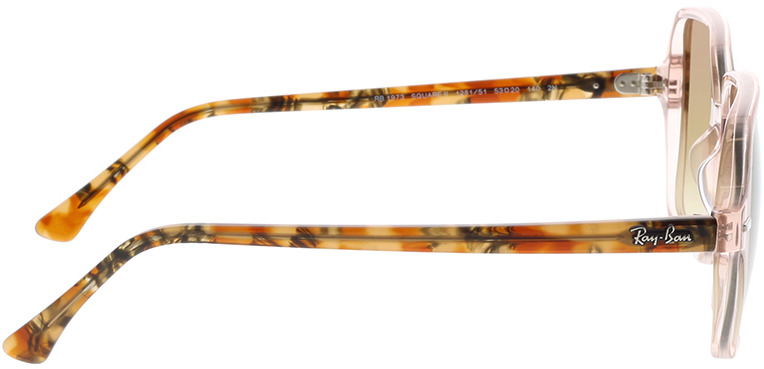 Picture of glasses model Ray-Ban RB1973 128151 53-20 in angle 90