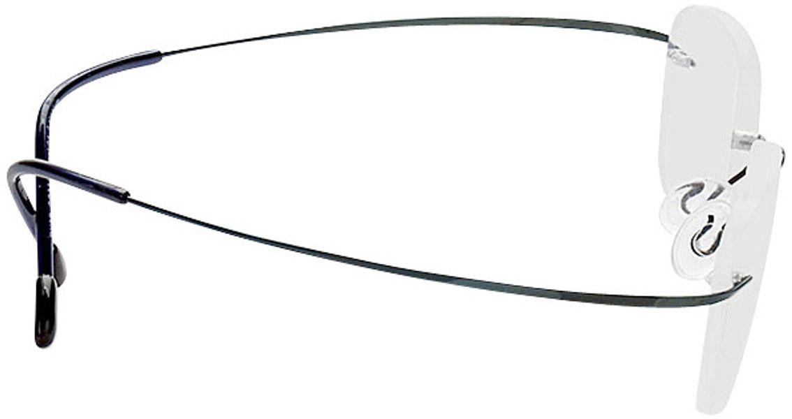 Picture of glasses model Mackay-blau in angle 90