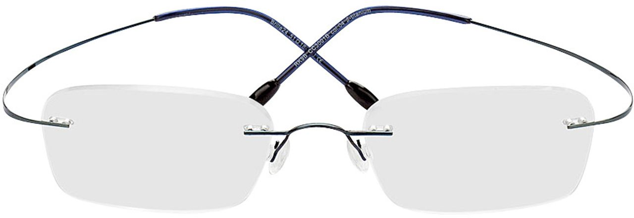 Picture of glasses model Mackay-blue in angle 0