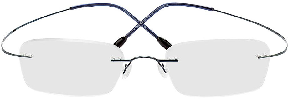 Picture of glasses model Mackay-blau in angle 0