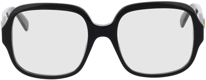Picture of glasses model Gucci GG0799O-001 53-19 in angle 0