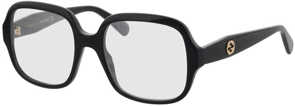 Picture of glasses model Gucci GG0799O-001 53-19 in angle 330