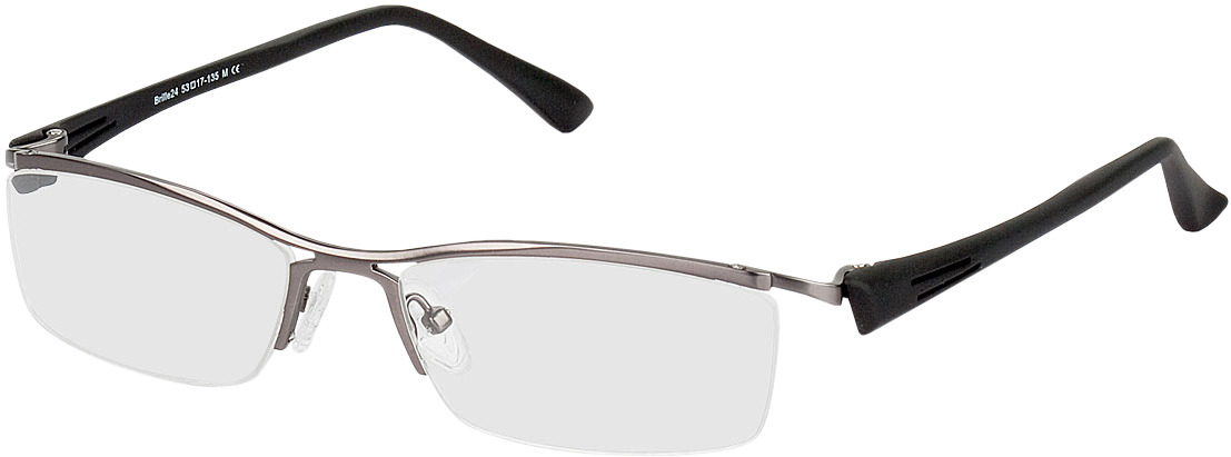 Picture of glasses model Silvan pulver/zwart in angle 330