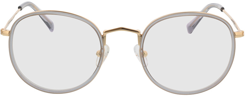 Picture of glasses model Gilbritt Grijs/Goud in angle 0