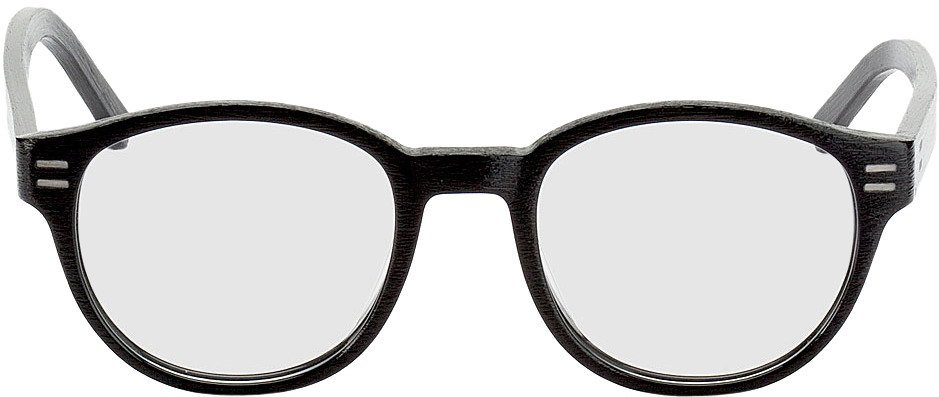 Picture of glasses model Albury-schwarz in angle 0