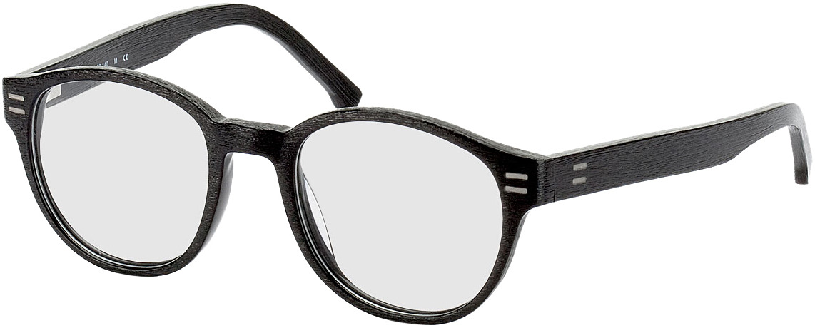 Picture of glasses model Albury-schwarz in angle 330