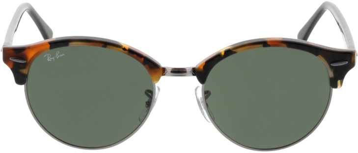 Picture of glasses model Ray-Ban Clubround RB4246 1157 51-19 in angle 0