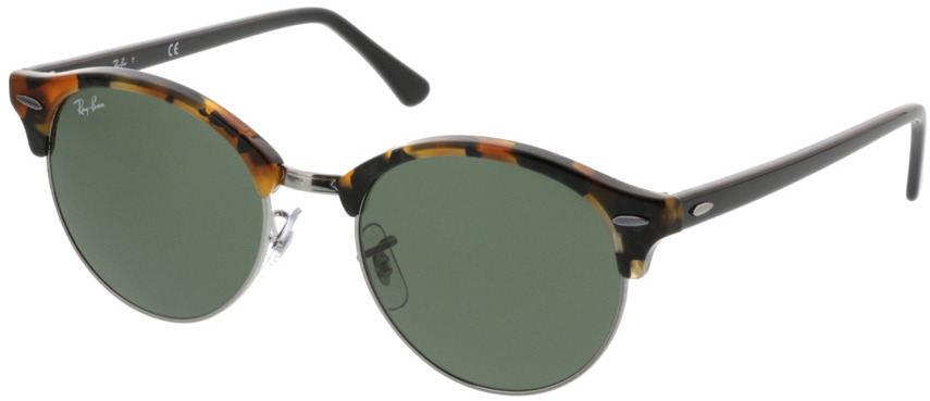 Picture of glasses model Ray-Ban Clubround RB4246 1157 51-19