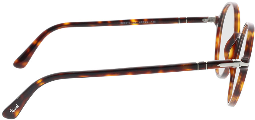 Picture of glasses model Persol PO3249V 24 49-22 in angle 90