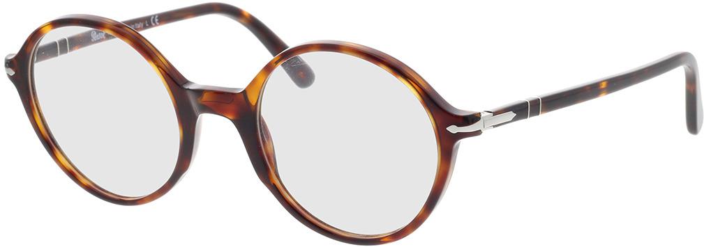 Picture of glasses model Persol PO3249V 24 49-22 in angle 330