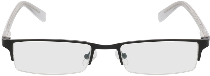 Picture of glasses model Mikkel zwart in angle 0