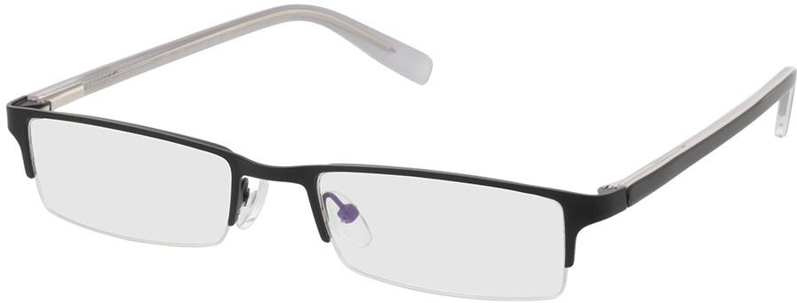 Picture of glasses model Mikkel zwart in angle 330