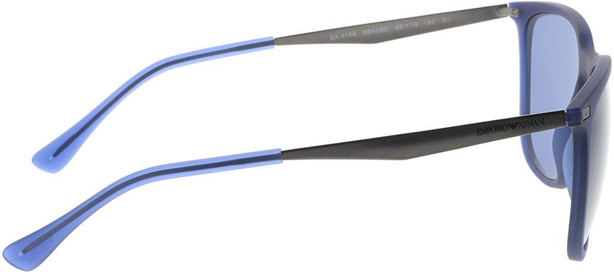 Picture of glasses model Emporio Armani EA4149 584280 55-19 in angle 90